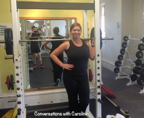 Conversations with Caroline - It's time to lift some weights