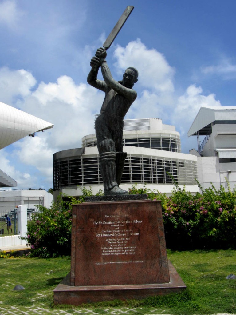 Sir Garfield Sobers, Barbados Oval