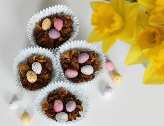 Chocolate Easter Nests Recipe